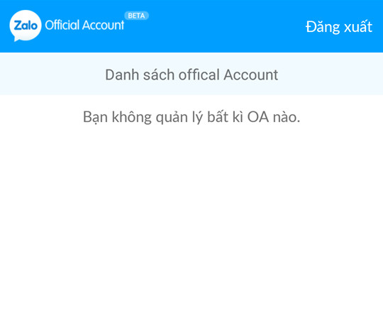 cach dang nhap tai khoan zalo oa admin official account 11