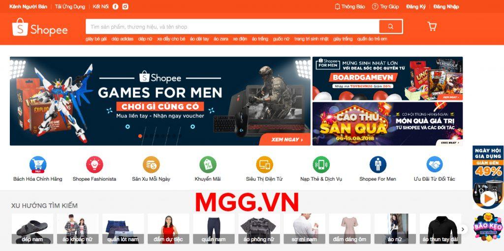 Hướng dẫn cách đăng ký bán hàng trên Shopee.vn