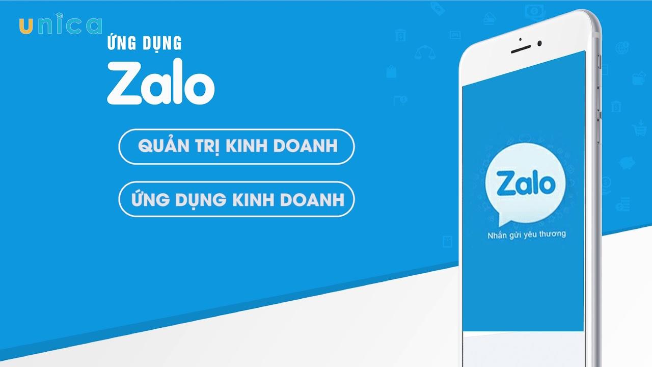 Khóa học Zalo ứng dụng trong quản trị kinh doanh