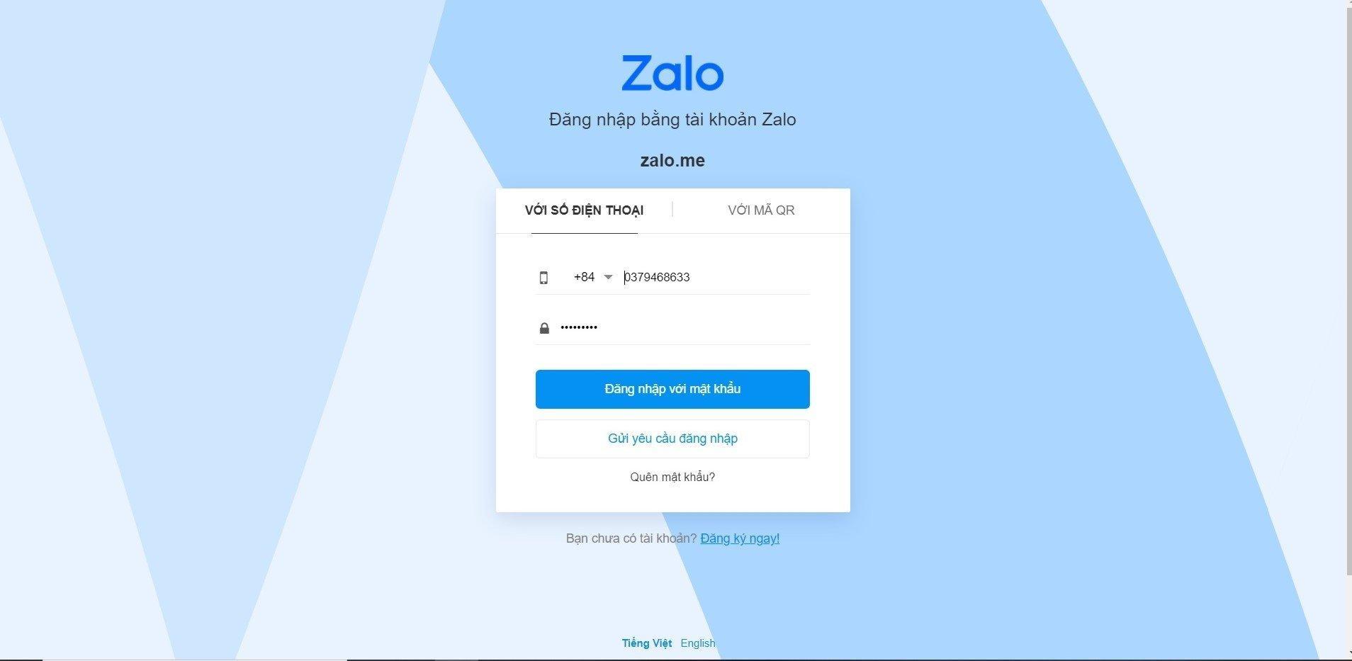 3 tuyệt chiêu đăng nhập Zalo Web dễ dàng chỉ mất 5 giây - BlogAnChoi