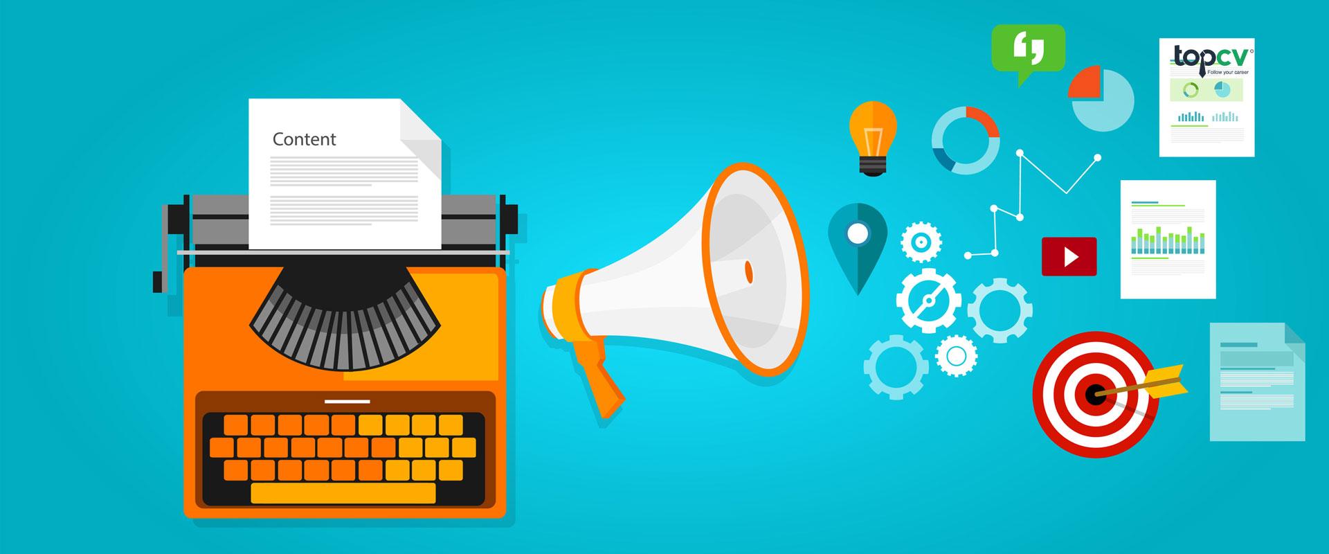 Nhân viên marketing online làm gì? Lương có cao không? - TopCV Blog