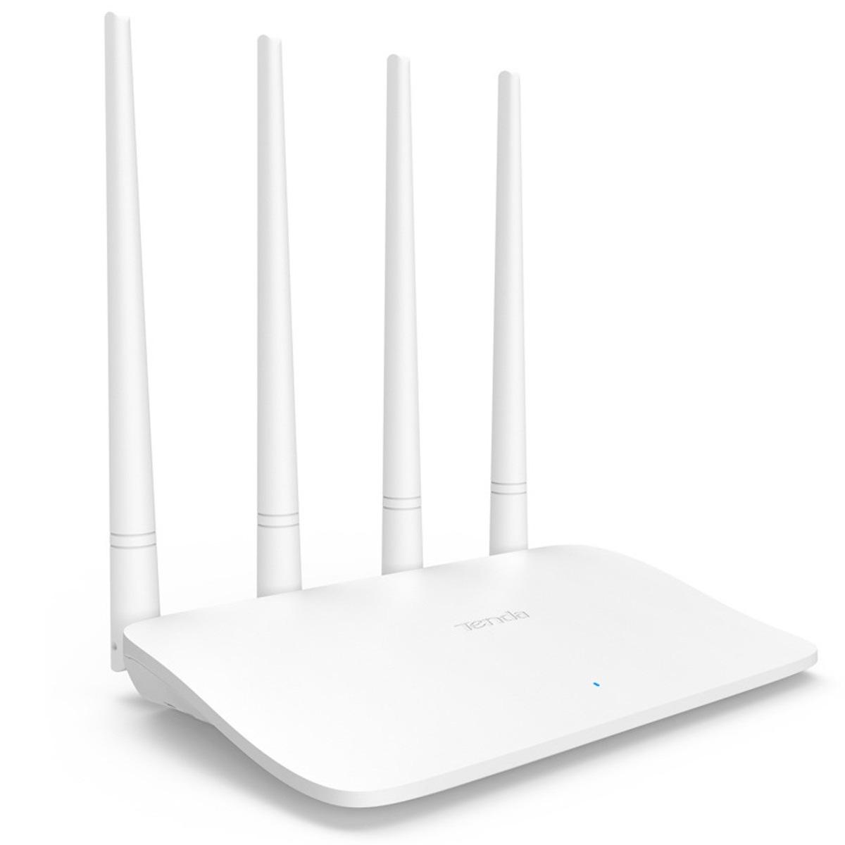 Thiết bị phát wifi không dây Tenda F6 (4 ăng ten) - META.vn