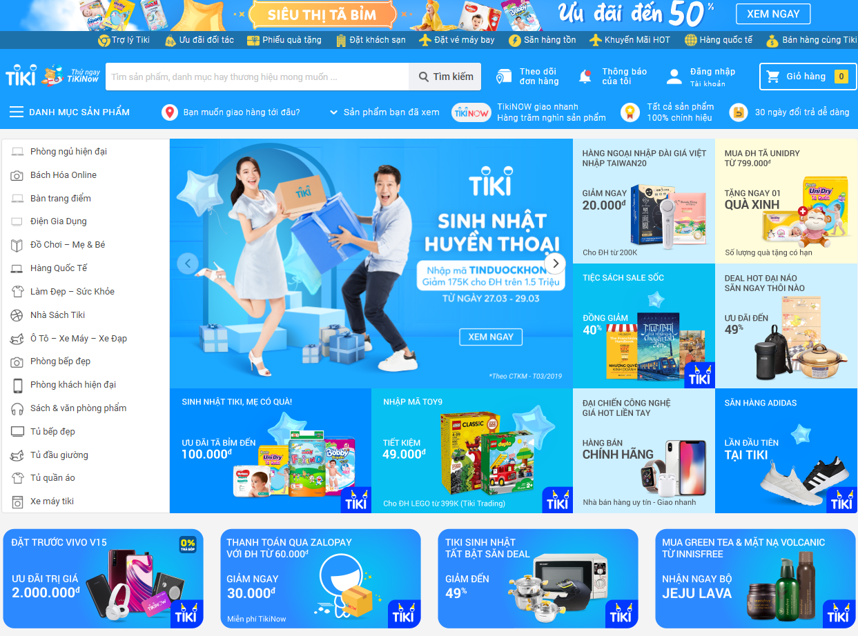 Tiki bán hàng online