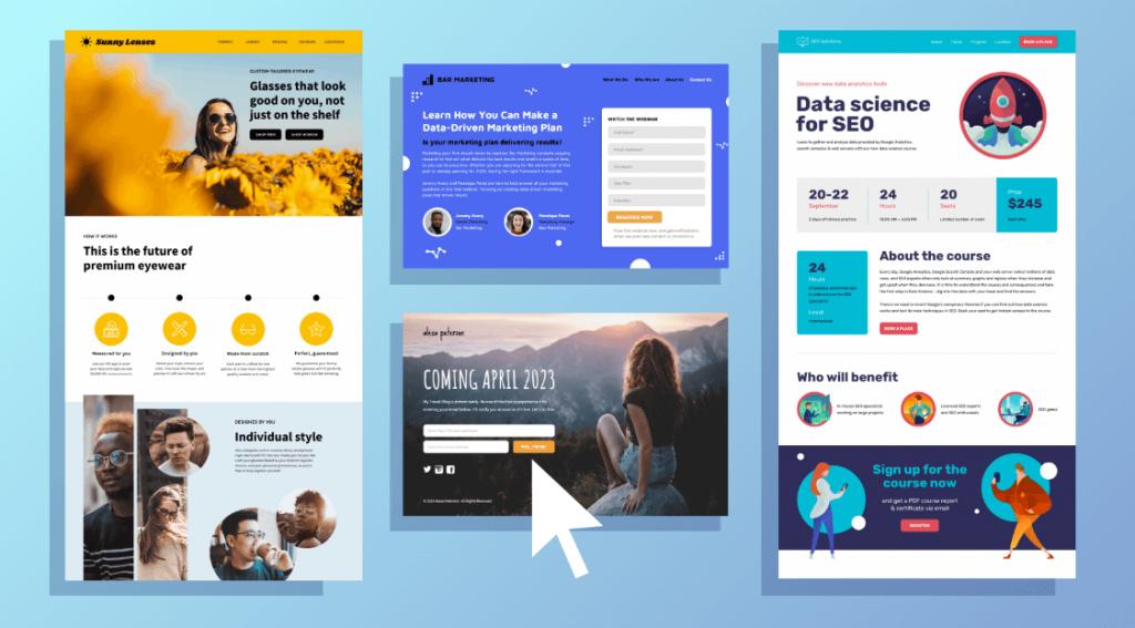 Top 10 mẫu landing page đẹp để chạy quảng cáo hiệu quả