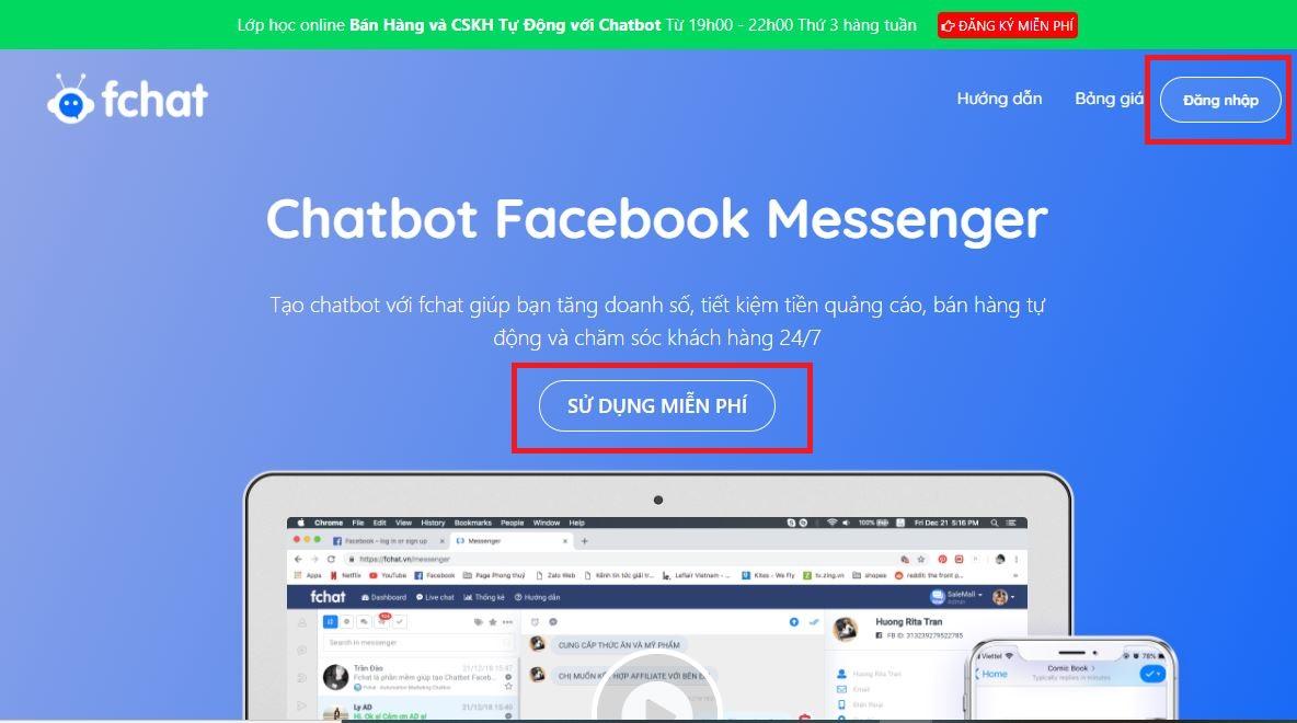 Những lợi ích mà ứng dụng Chatbot Facebook mang đến cho người dùng