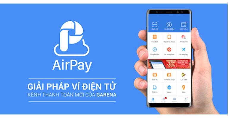 Ví Air Pay là gì? Hướng dẫn cách sử dụng AirPay nạp, rút, tiền?