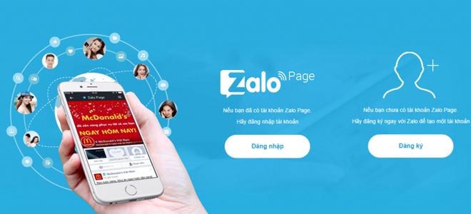 xây dựng thương hiệu cá nhân trên Zalo