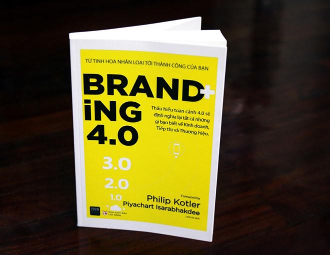 sach branding 4.0 8 quyển sách hay về Marketing Online giúp bạn xây dựng thương hiệu bền vững